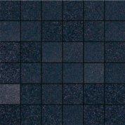Fiberglass black lappato mosaico