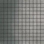 Inox silver graffiato mosaico
