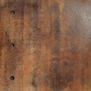 Metal copper lappato circle-3