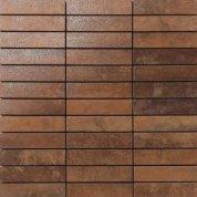 Metal copper lappato mosaico