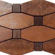 Metal copper lappato mosico blend