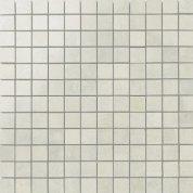 Nanocorten white lappato mosaico