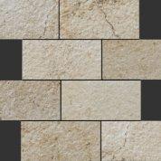 Neocountry beige bocciardato mosaico