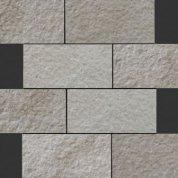 Neocountry grey bocciardato mosaico
