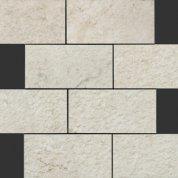 Neocountry white bocciardato mosaico