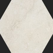 Neocountry white natural hexagonal L34.38