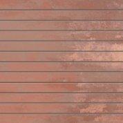 Patina copper lappato preincision