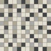 Rendering grey natural mosaico decor