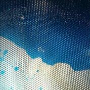 Живая плитка акриловая синяя