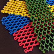Грязезащитные ячеистые покрытия